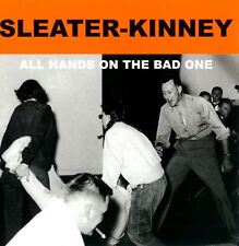 SLEATER-KINNEY all hands on the bad one (CD album) EX/EX KRS 360 alt rock