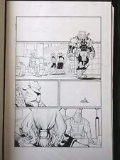 Ryan Ottley Invincible original Comic Art Page Battle Beast Allen