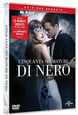 50 CINQUANTA SFUMATURE DI NERO (DVD) con Jamie Dornan EDIZIONE SEGRETA