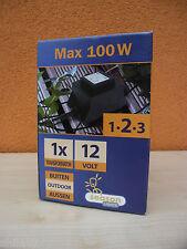 Season Lights OUTDOOR Trafo Transformator Netzteil L274-00 100W 12V 105VA