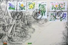 Ireland Stamps, First Day Cover, Wild Flowers of Ireland - 9/9/2004