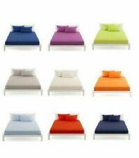 Lenzuola multicolore dimensioni una piazza e mezza per il letto