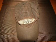 St. Croix Rod waxed cotton baseball hat- Brown