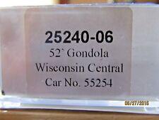 "JTC  -  Thrall 52' 6"" Steel Gondola (Wisconsin Central)"