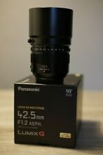 Panasonic Leica DC NOCTICRON 42.5 mm F/1.2 DG Power O.I.S. Lens for MFT