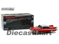 Rare Christine 1958 Plymouth Fury noirci Out Fenêtres 1 24 Greenlight 84082