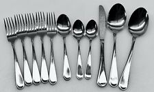 New listing 11 Pc mixed filler lot Oneida Flight Reliance Glossy Forks Serving spoons knife