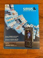 Sirius Stiletto 2 Portable Satellite Radio + Mp3 Player New In Box Wcar Kit Rare