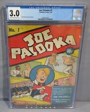JOE PALOOKA #1 (First comic to portray American President) CGC 3.0 Columbia 1942