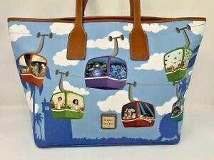 Disney Dooney & and Bourke Skyliner Tote Purse Zip Top Haunted Mansion Bag NWT