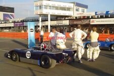 PHOTO  SILVERSTONE 08 ALL-LOLA T210 FRONT ROW OF THE GRID FOR THE WORLD SPORTSCA