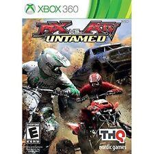 MX VS. ATV UNTAMED  (XBOX 360, 2014) (4572)        FREE SHIPPING USA