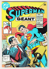 *** SUPERMAN Géant n° 18 *** 1982 - Sagedition DC // Q. NEUF