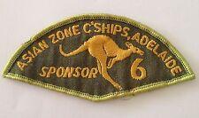 Asian Zone Championship Adelaide TenPin Bowling Patch Badge Sponsor Ten Pin (P1)