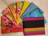 Kaffe Fassett Fabric For Free Spirit Fabrics 9 Piece Fat Quarter Bundle