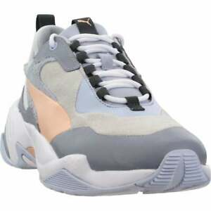 Puma Thunder Colorblock Lace Up  Womens  Sneakers Shoes Casual   - Grey - Size