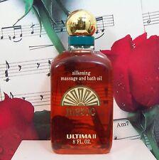 Maroc Silkening Massage And Bath Oil 8.0 Oz. By Ultima II. Vintage. NWOB