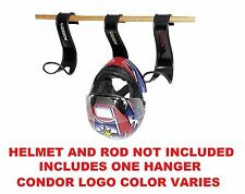 Condor Universal Helmet Hanger Motorcycle Over The Door Motocross Dirtbike
