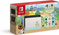 NEW Nintendo Switch Animal Crossing: New Horizon Special Edition Console Bundle