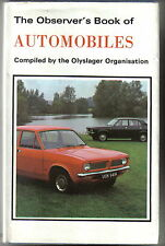 Observer's Book of Automobiles 1972 17th Edition with good dust wrapper