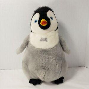 "Happy Feet 2 Talking Mumble Plush Stuffed Penguin Thinkway Toy Works Great 12"""