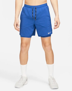 "Nike Flex Stride Men's 7"" 2-In-1 Running Shorts Sustainable Materials"