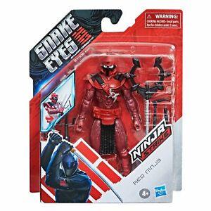 Snake Eyes: G.I. Joe Origins Movie Red Ninja 6 Inch Action Figure Preorder