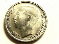 """1968 Luxembourg One (1) Franc """"Jean Grand-Duc"""" Coin"""