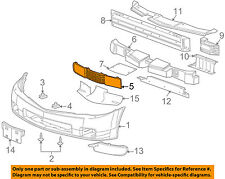 Cadillac GM OEM 04-08 XLR-Grille-Lower 15247797
