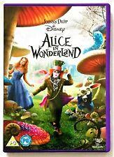 DISNEY Alice in Wonderland DVD2010edition Johnny Depp,Mia8717418256029Tim Burton
