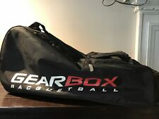 Gearbox Racquetball Bag, Red Back Pack Style