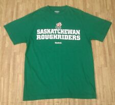 Saskatchewan Roughriders CFL Football Reebok Green Shirt ~ Men's Small S ~ SS