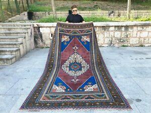 Rare Turkish Oushak Rug, Anatolia Wool, Decorative, Tribal, Unique Runner Rug