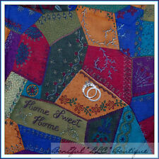 BonEful Fabric FQ Cotton Patchwork Quilt VTG Country Antique Sweet Farm Home OOP
