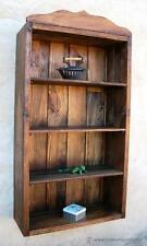 mueble vitrina estanteria, rustico, 4 baldas