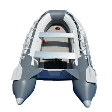 3.3M Inflatable Boat Raft Dinghy Tender Pontoon Fishing Boat With AIR-DECK Floor