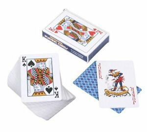 PROFESSIONAL PLASTIC COATED CARDBOARD (laminated) PLAYING CARDS