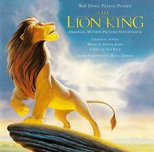 THE LION KING - ORIGINAL MOTION PICTURE SOUNDTRACK / CD (MERCURY 522 690-2)