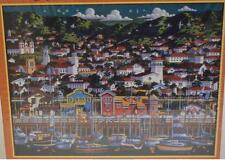 Dowdle Folk Art ~ Santa Barbara ~ 500 pc Jigsaw Puzzle ~ Stearns Wharf
