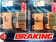 DUCATI ST3 S ABS 1000 2007 07 PASTIGLIE ANTERIORE SINTERIZZATE FRENO BRAKING CM5