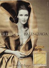 PUBLICITE ADVERTISING  2005   BALANCIAGA  parfum  CRISOTBAL