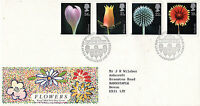 20 JANUARY 1987 FLOWERS ROYAL MAIL FIRST DAY COVER KEW RICHMOND SHS