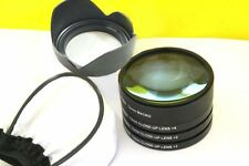 Macro primi piani lenti lente Filtro per SIGMA 17-70mm F 2.8-4DC Macro OS HSM