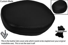 BLACK STITCH CUSTOM FITS BMW C1 125 200 HEADREST LEATHER SEAT COVER