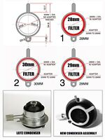 Leitz Condenser Microscope Retrofit to Receive 28mm, 29mm, 30mm, 32mm Diameters