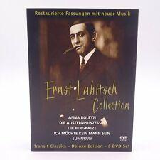 Ernst Lubitsch Collection DVD Filme Movie Restaurierte Fassungen mit neuer Musik