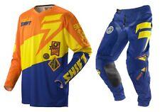 Taglia XL-36 Completo Maglia Pantalone Shift Faction Slate Arancione Blu Cross