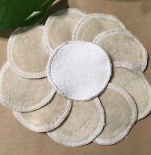 Reusable Makeup Wipes - white/beige Face pads Australia cloth wipes cosmetic eco