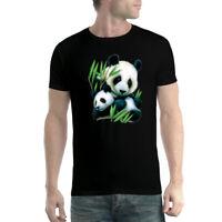 Panda Cub Men T-shirt XS-5XL New