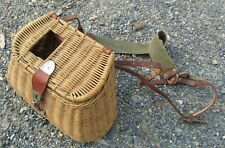 New listing Vintage Fishing Creel with Shoulder Strap Appears Unused